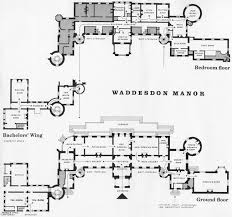 West Wing White House Floor Plan Waddesdon The Present Configuration Of The Ground Floor