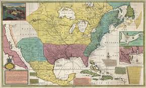 Map Of France And Spain by New Map Of The North Parts Of America Claimed By France Under Ye
