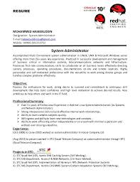Sample Resume Of Office Administrator by Download Linux Administration Sample Resume Haadyaooverbayresort Com