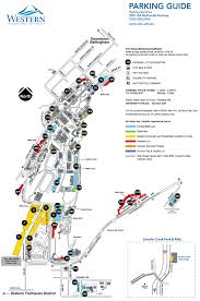 Chicago Parking Map by Wwu Parking Map My Blog