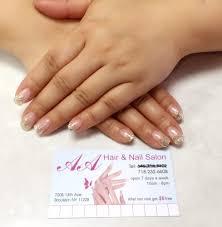 aa hair u0026 nail salon nail salons 7205 13th ave dyker heights