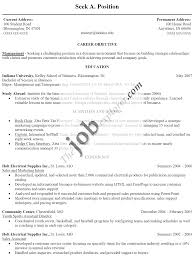 Information Technology  IT  Resume Sample   Resume Genius Break Up sample objectives for resume writing objective resume objective       objectives in resume examples