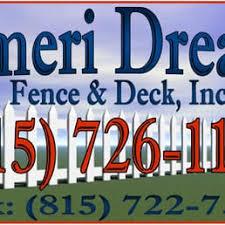 photos for ameri dream fence u0026 deck yelp