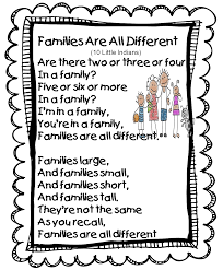 thanksgiving kid poems first grade family poems unit includes a six page mini books the