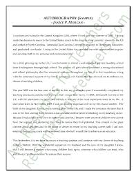 Teacher Autobiography Sample A  Resumes for Teachers Do you need assistance with writing your educational autobiography