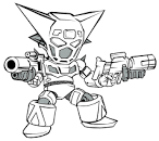 deviantART: More Like Chibi Mecha Stickers by