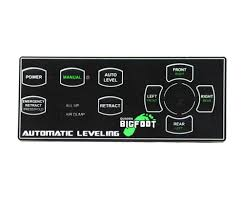 bigfoot ac e4501 central pump automatic leveling system for ford e