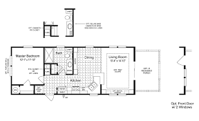 5 Bedroom Mobile Home Floor Plans View The Sunset Cottage I Floor Plan For A 620 Sq Ft Palm Harbor