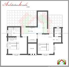 Dwell Home Plans by Three Bedroom House Plan And Elevation In 2000 Sq Ft