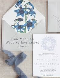 how much do wedding invitations cost u2014 kelsey malie calligraphy