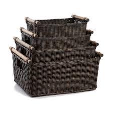 Ikea Wicker Baskets by Wicker Storage Baskets For Shelves Home Design Ideas