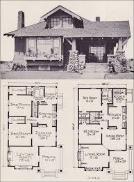 Craftsman Home Plans With Pictures Best 25 Vintage House Plans Ideas On Pinterest Bungalow Floor