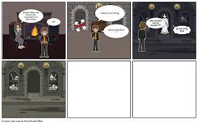 monster hous storyboard by sara alghamdi