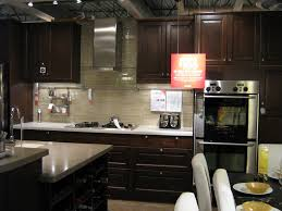kitchen beautiful dark brown wood stainless rustic design wood