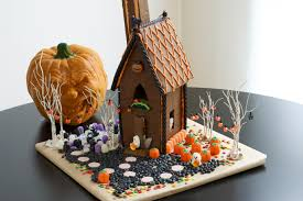 how to decorate a halloween gingerbread house allrecipes dish