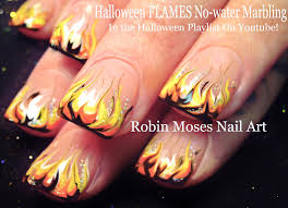 158 best halloween nail art pictures with tutorials images on