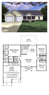 Split Level Ranch Floor Plans 16 Best Ranch House Plans Images On Pinterest Cool House Plans