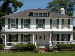 colonial style homes front porches home style