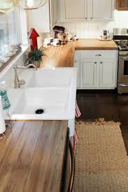 best 25 wood countertops ideas on pinterest butcher block how to create faux reclaimed wood countertops