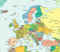 Luxembourg Map Map Of Europe Europe Map European Maps Countries Landforms
