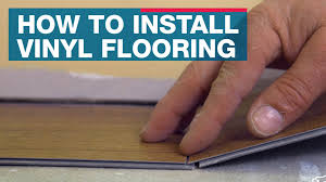 Floating Floor Lowes How To Install Vinyl Plank Flooring Youtube