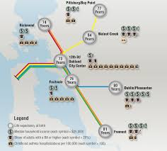 San Francisco Bart Map Us Census Musings On Maps