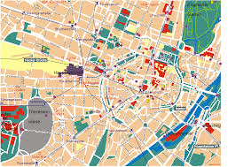 Detailed Map Of Germany by Munich Map Detailed City And Metro Maps Of Munich For Download