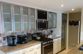 glass kitchen cabinet doors gallery aluminum glass cabinet doors vivaro aluminum frame