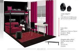 Chambre Ado Fille 15 Ans by Accessoire Chambre Ado Chambre Ado Design Composition L007 Avec