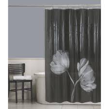 cocoa flower shower curtain walmart com