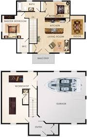 2 Floor House Plans With Photos by Garage With Upstairs Apartment Maybe Sauna In Back Of Garage