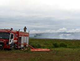 Tempo chuvoso ajuda a diminuir incêndio na área de turfa na Serra ...