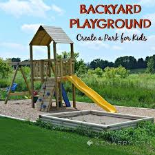 Backyards For Kids by Diy Backyard Playground How To Create A Park For Kids