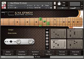 Ilya Efimov has released TC Electric Guitar and TC Strum, two electric guitar sample libraries for Native Instruments Kontakt. - ilya_TC_strum