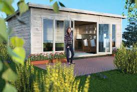 Villa Modern by Little Villa 260 Modern Scandinavian Log Cabin 100 Free Delivery