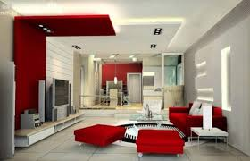 Home Interior Design Themes by Gray And Red Living Room Interior Design Home Interior Design