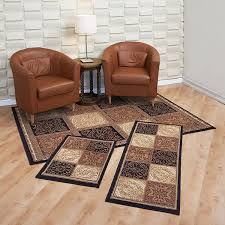 Images Of Livingrooms by Amazon Com Achim Home Furnishings Capri 3 Piece Rug Set Sarouk