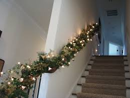 Decorative Garlands Home by Christmas Garlands With Lights For Stairs U2013 Happy Holidays