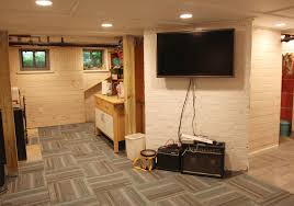 awesome partially finished basement ideas finished basements ideas