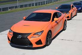 lexus rc coupe orange first drive 2015 lexus rc f and rc 350 digital trends