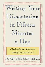 writing your dissertation in fifteen minutes a day amazon co uk
