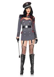 Katara Halloween Costume Leg Avenue General Punishment Costume Dictator Army Military