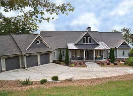 Ranch Style House Plans With Basement by Plan 29876rl Mountain Ranch With Walkout Basement Rustic House