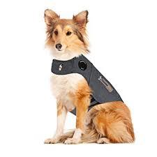 amazon black friday dog shock gps amazon com thundershirt dog anxiety jacket heather gray large