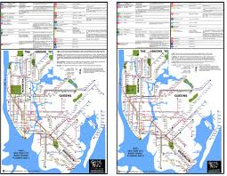 Subway Nyc Map by 1964 Planning Maps Goodstuffnowllc