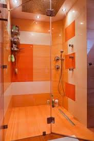 shirtless jordan davies in outside shower just the colour orange