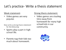 thesis statement Free Graphic Organizers for Teaching Literature and