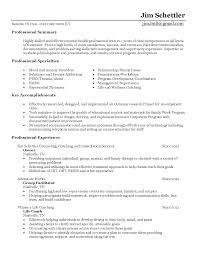Sample Medical Technologist Resume by Behavioral Health Counselor Resume Sample Resumes Pinterest