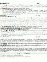 Breakupus Fetching Resume Sample Senior Executive Resume Careerresumes With Endearing Resume Sample Senior Executive Page And     Break Up