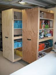 Build Wood Garage Shelves by Best 25 Garage Storage Cabinets Ideas On Pinterest Garage